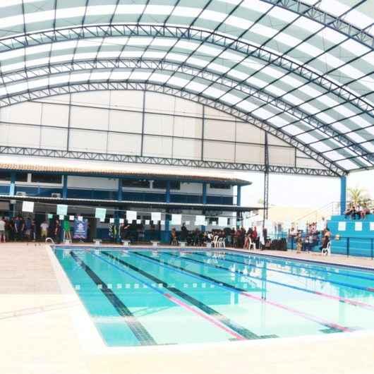 Piscina do Centro Esportivo Municipal recebe campeonato regional de natação