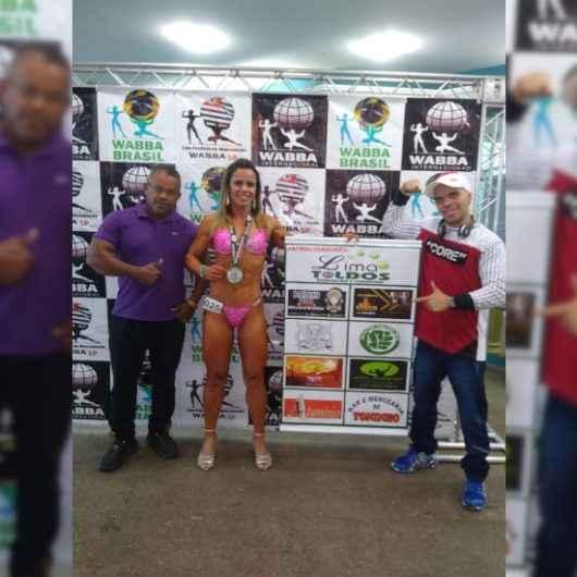 Fisiculturista, mãe e exemplo de foco, é destaque em competição Paulista