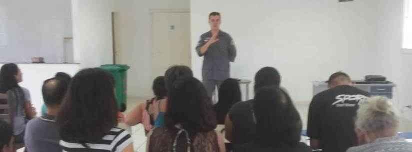 Prefeitura de Caraguatatuba promove palestras educativas para moradores do Conjunto Habitacional Nova Caraguá I