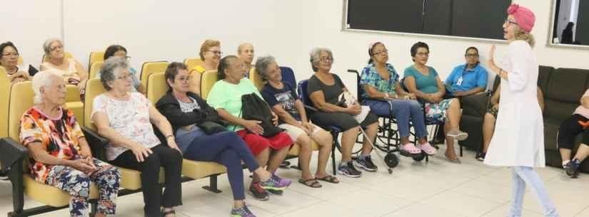 Palestra em Caraguatatuba alerta sobre incidência de câncer de mama na 3ª Idade