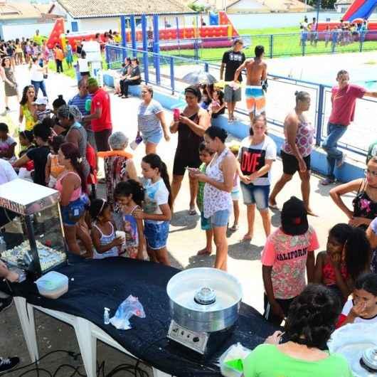 Moradores do Nova Caraguá II participam da Festa das Crianças no Ciase Travessão