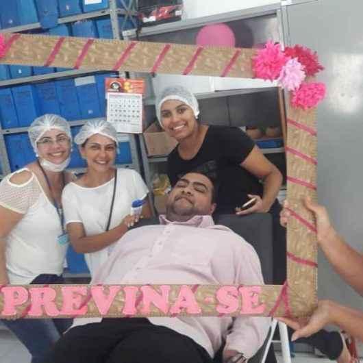Saúde, prevenção e beleza: Núcleo Social e UBS do Morro do Algodão realizam ações do Outubro Rosa