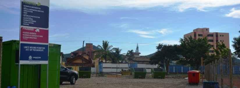 Ecoponto do bairro Martim de Sá estará fechado nesta sexta-feira