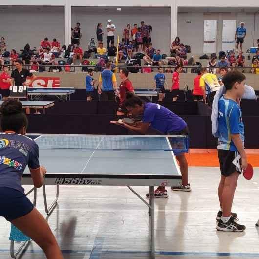Atletas de Caraguatatuba faturam várias medalhas no VIII Etapa do Ranking da Liga Vale Paraibana de Tênis de Mesa