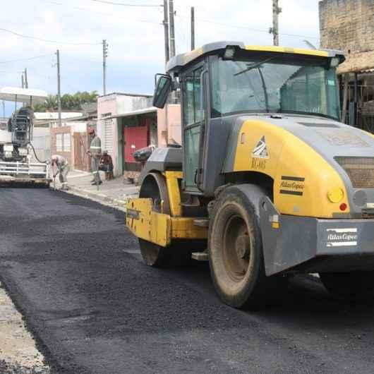Prefeitura intensifica obras de repavimentação e drenagem no Barranco Alto