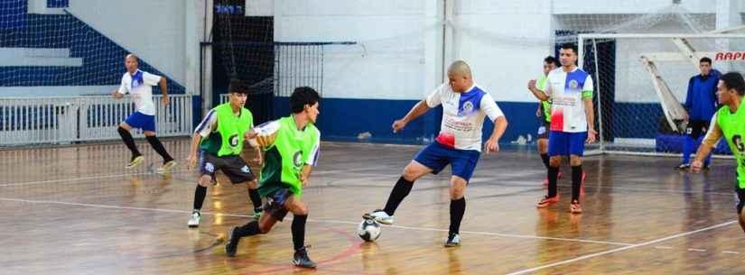 Com rebaixamento de dois times, Série Prata do Campeonato de Futsal entra na segunda fase