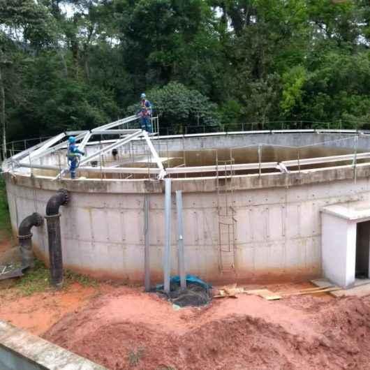 Sabesp realiza melhorias no reservatório do sistema Guaxinduba, em Caraguatatuba