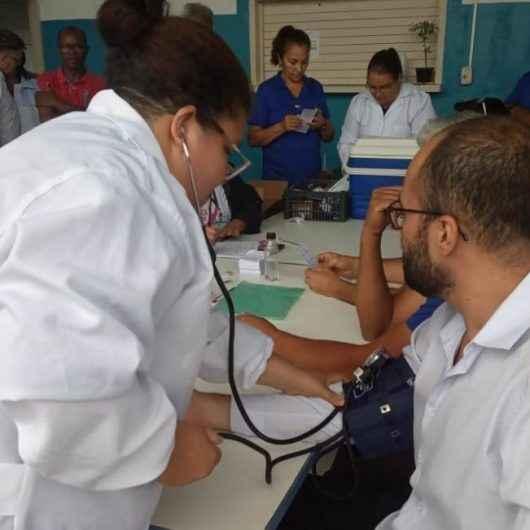 Funcionários da Sesep colocam a saúde em dia no Mês do Servidor