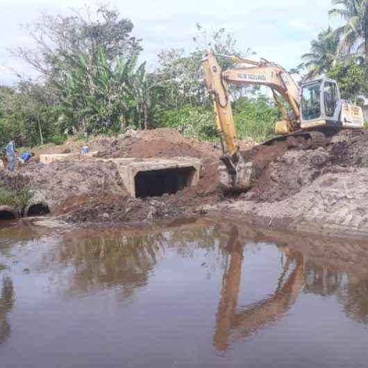 Serviço de prevenção de enchentes no Rio Capricórnio será finalizado hoje (11/10)
