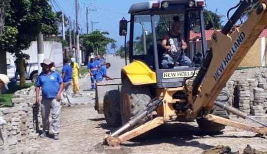 Prefeitura realiza manutenção de bloquetes do Massaguaçu
