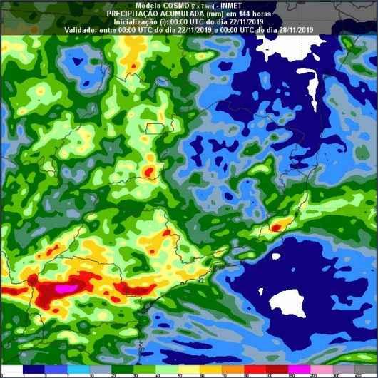 Defesa Civil e Marinha alertam para ventos de 74 km/h e tempestades a partir desta sexta