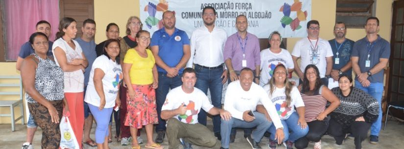 Prefeito de Caraguatatuba se reúne com moradores do Loteamento Rio Marinas e anuncia melhorias
