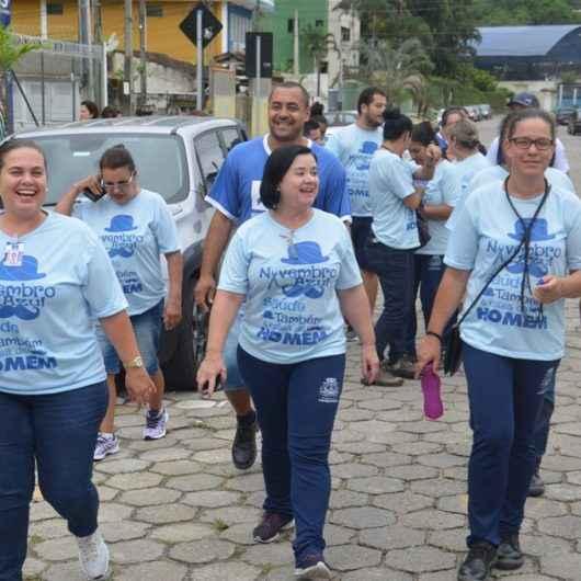 Caraguatatuba realiza caminhada em menção ao Novembro Azul