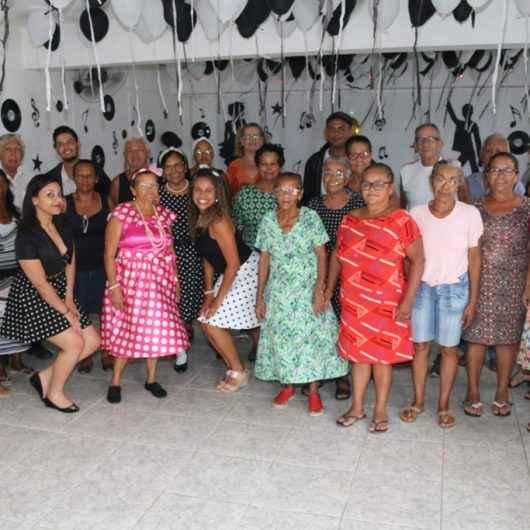 Animação e inclusão social para idosos atendidos no CRAS SUL de Caraguatatuba