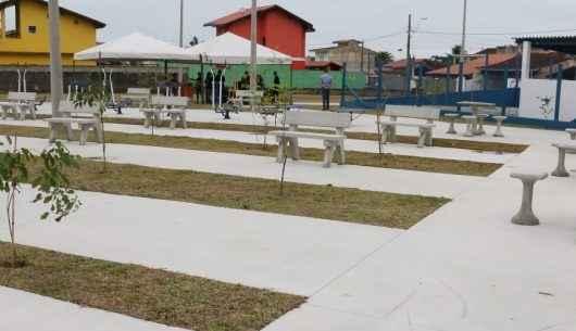 Região Norte de Caraguatatuba ganha Ecoponto e Praça do Idoso