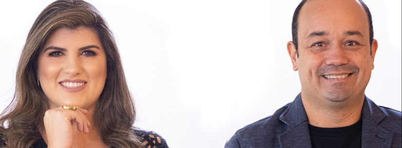 Michelle Sampaio e Marcelo Hespaña ministram palestra sobre comunicação para servidores municipais no dia 5