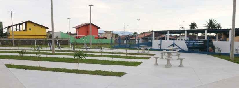 Prefeitura inaugura Praça do Idoso e Ecoponto Massaguaçu