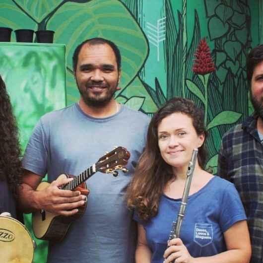 Clube do Choro de Caraguatatuba se apresenta no Hotel Atlântico Sul