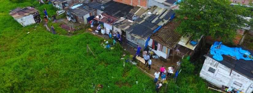 Prefeitura de Caraguatatuba cadastra mais de 110 imóveis em terreno ocupado da CDHU na região Sul