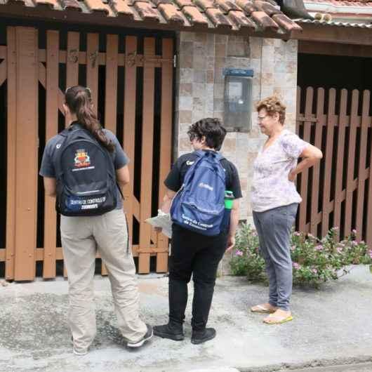 Campanha Minha Família sem Dengue: agentes intensificam inspeções em Caraguatatuba