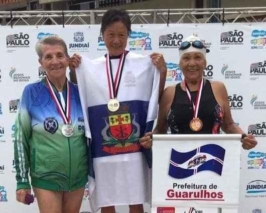 Idosos de Caraguatatuba conquistam medalhas nas finais do JORI
