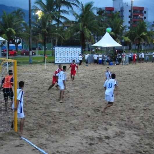 Inscrições para o Torneio de Verão de Beach Soccer estarão abertas a partir desta quarta-feira