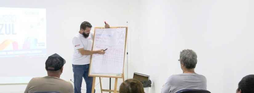 Fundo Social e Senai iniciam curso de Instalador de Drywall em Caraguatatuba