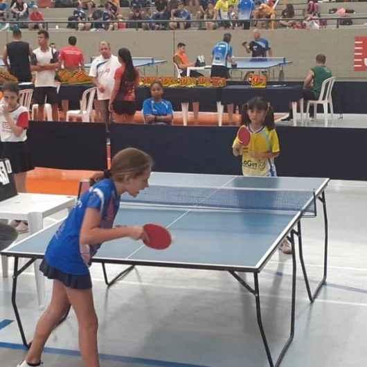 Atletas de Caraguatatuba são destaque em torneio de Tênis de Mesa