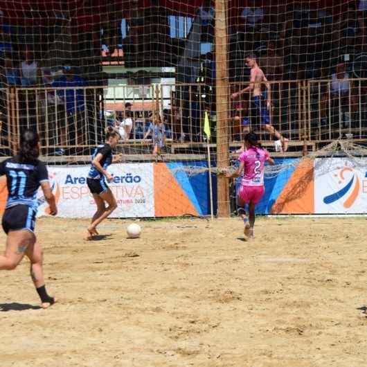 Lifusac/Secer conquista título do Campeonato Municipal de Beach Soccer Feminino em Caraguatatuba