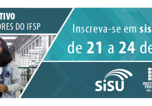 SISU 2020: Instituto Federal de Caraguatatuba oferta 200 vagas para cinco cursos superiores