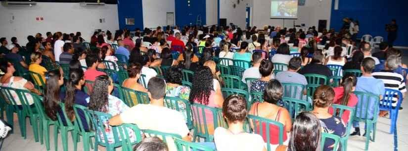 Treinamento para processo seletivo do HR reúne mais de 300 pessoas em Caraguatatuba