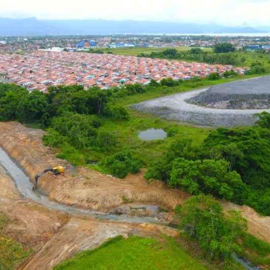 Obras contra enchentes aceleram escoamento das águas em bairros de Caraguatatuba