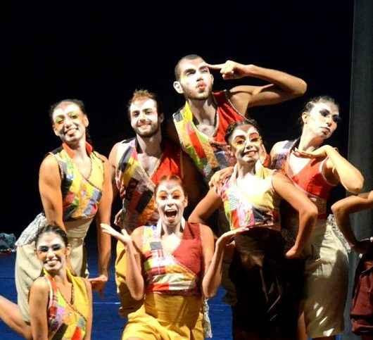 Corpo de Baile de Caraguatatuba apresenta espetáculo infantil 'Expresso Tatu' em Ubatuba