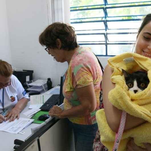 Pet's aguardam por adoções em feira do CCZ de Caraguatatuba neste sábado (15/02)