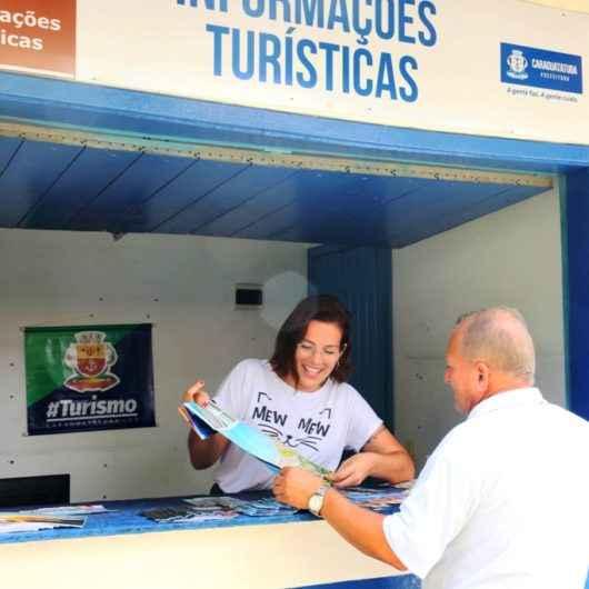 Posto instalado na Rodoviária leva informação ao visitante de Caraguatatuba
