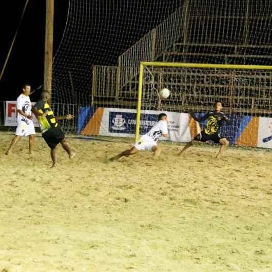 Finalistas do Campeonato de Beach Soccer de Caraguatatuba serão definidos nesta quarta-feira (29)