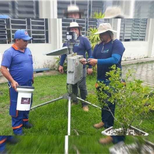 Pluviômetros instalados em Caraguatatuba passam por manutenção técnica