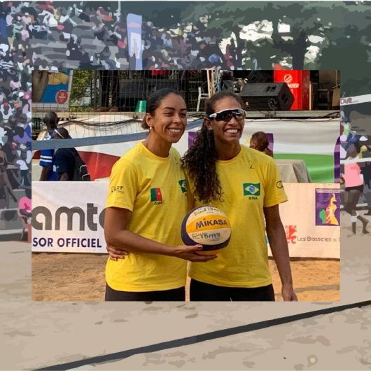Atletas de Vôlei de Praia de Caraguatatuba conquistam vice-campeonato em Torneio no Camarões