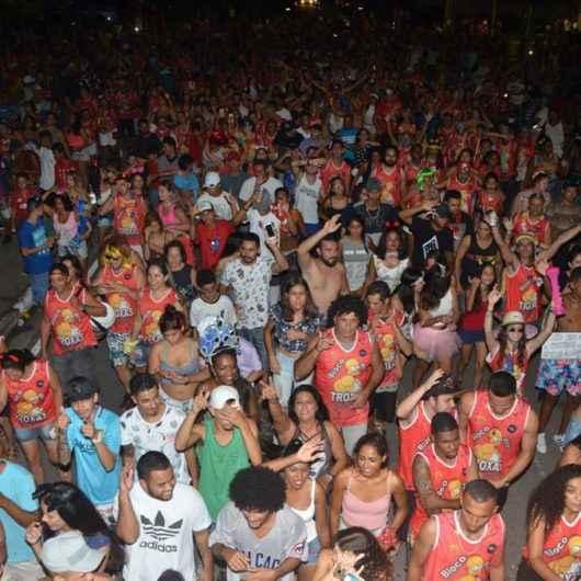 Bloco dos Troxas é a alegria do Carnaval no Porto Novo