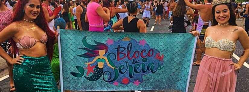 Bloco das Sereias toma conta, pela primeira vez, das ruas de Caraguatatuba no Carnaval 2020