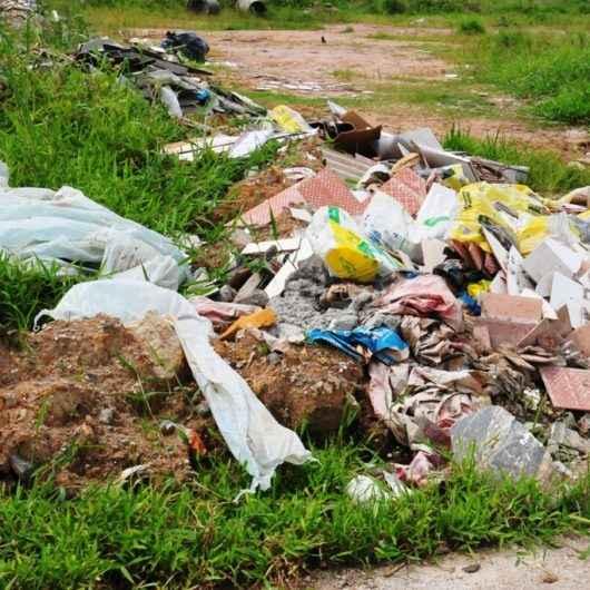 Prefeitura realiza 70 autuações por descarte irregular de resíduos apenas no mês de janeiro