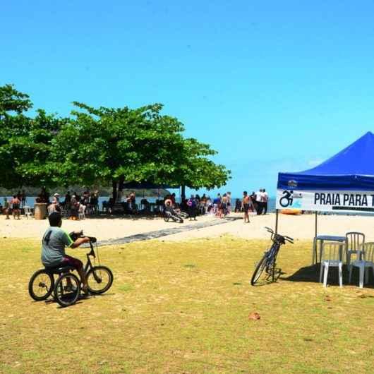 Programa Praia Acessível entra em clima de Carnaval na sexta-feira (21/02)