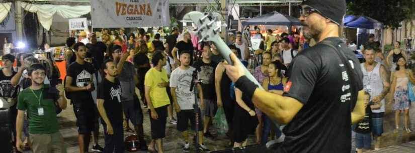 Praça do Caiçara recebe 3ª edição da Feira Vegana de Caraguatatuba