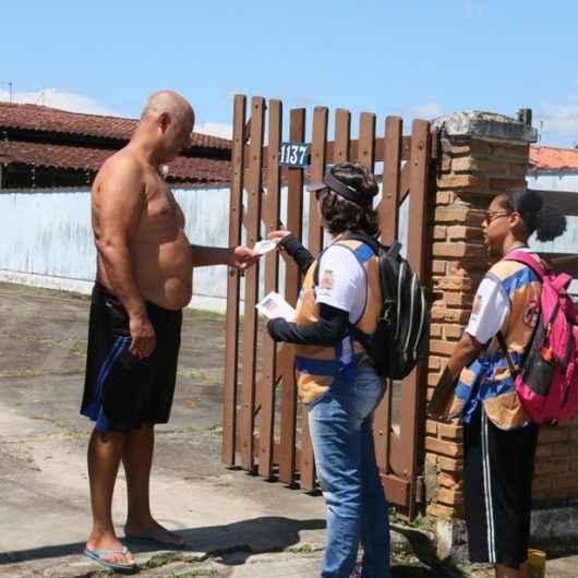 """""""Minha Família Sem Dengue"""" visita mais 7 mil casas em Caraguatatuba em menos de 20 dias"""