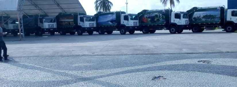 Coleta de lixo em Caraguatatuba tem reforço de seis novos caminhões