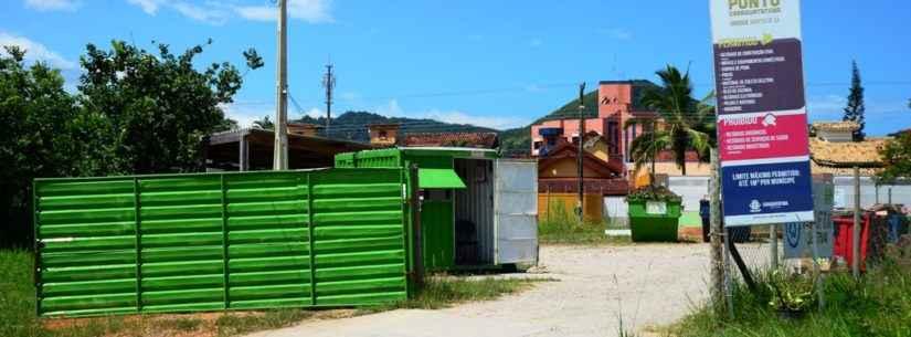 Ecopontos receberam mais de 7 mil toneladas de resíduos em dois anos de funcionamento