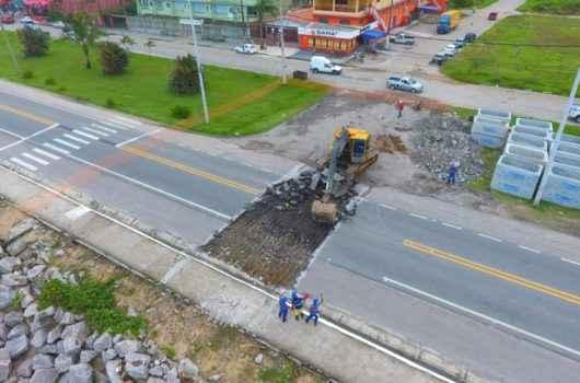 Obras de construção de canal extravasor no Massaguaçu devem ser concluídas no final desta semana