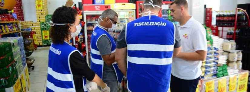 Covid-19 - Fiscalização do Procon de Caraguatatuba tem 80 notificações a estabelecimentos