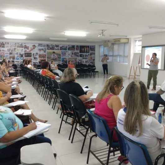 Profissionais da rede municipal de Caraguatatuba recebem capacitação sobre prevenção da Covid-19
