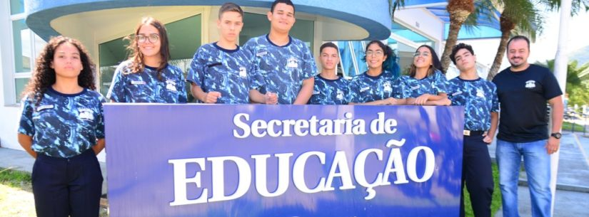 Integrantes da Guarda Mirim de Caraguatatuba iniciam atividades como jovens aprendizes